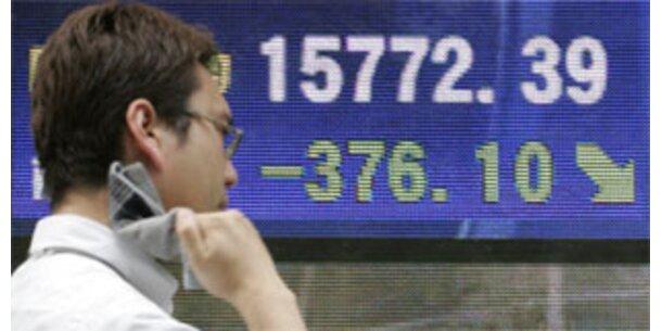 Nikkei-Index erleidet größten Verlust seit 9/11