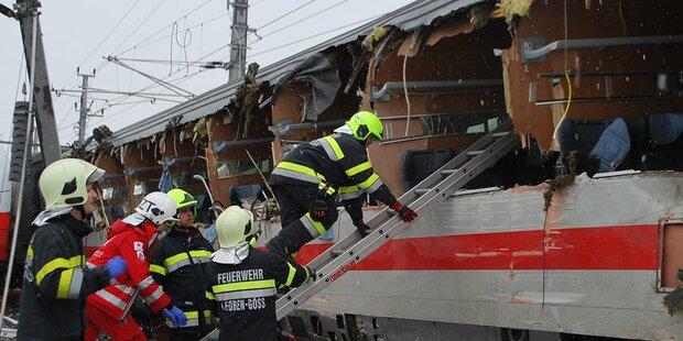 Zugsunglück bei Leoben: Eine Tote