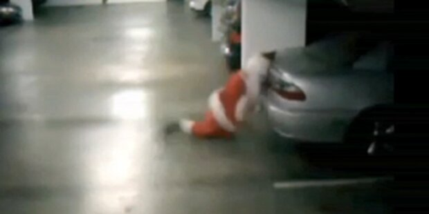 Die Welt lacht über Alko-Nikolaus