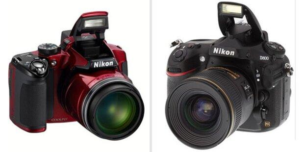 Nikon stellt die D800 mit 36 Megapixel vor