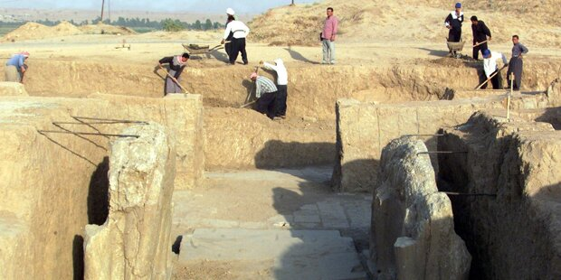 Jihadisten planieren Ruinenstadt Nimrud