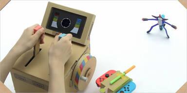 """Nintendo verkürzt Wartezeit auf """"Labo"""""""