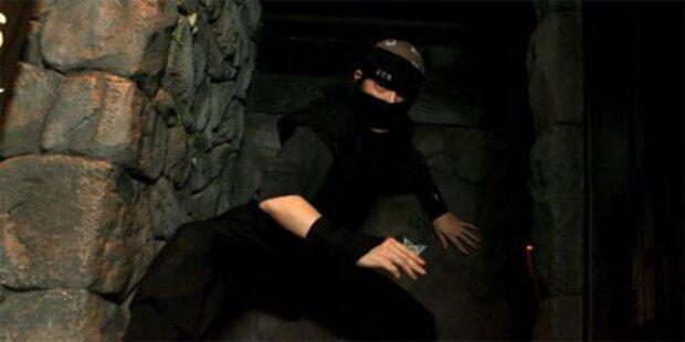 Ninja-Kämpfer retteten deutschen Student