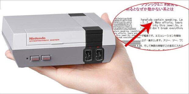 Geheim-Code bei Nintendo-Konsole entdeckt
