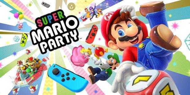 Super Mario Party für die Switch im Test