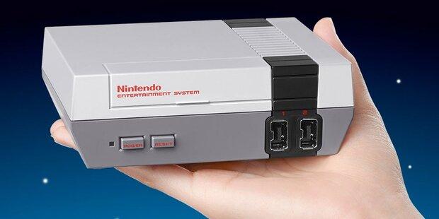 NES Classic Mini feiert zweites Comeback