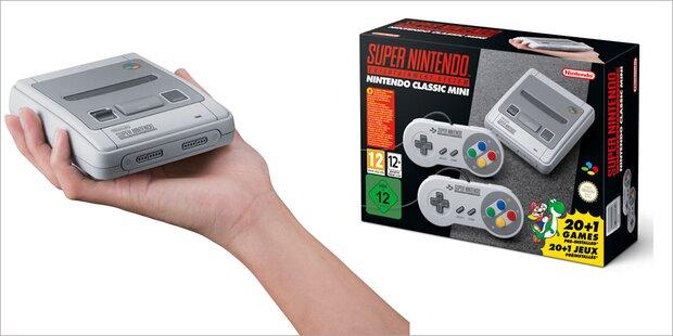 Auch der Super Nintendo kommt zurück
