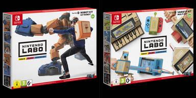 Nintendo startet coole Switch-Baukästen