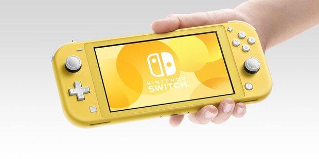 Nintendo greift mit der Switch Lite an