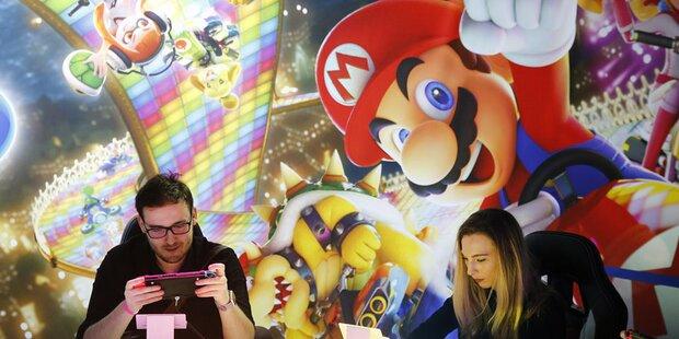 Nintendo-Games kommen bestens an
