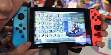 Nintendo hat über 10 Mio. Switch verkauft