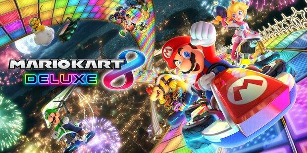 So abgefahren wird Mario Kart 8 Deluxe