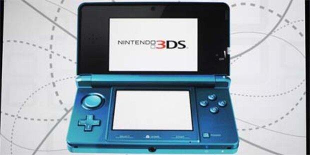Nintendos 3D-Spielkonsole ist da