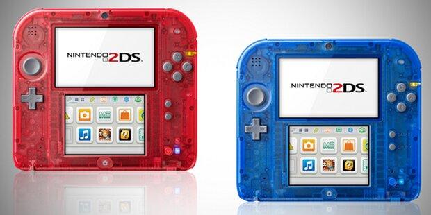 Nintendo bringt transparenten 2DS