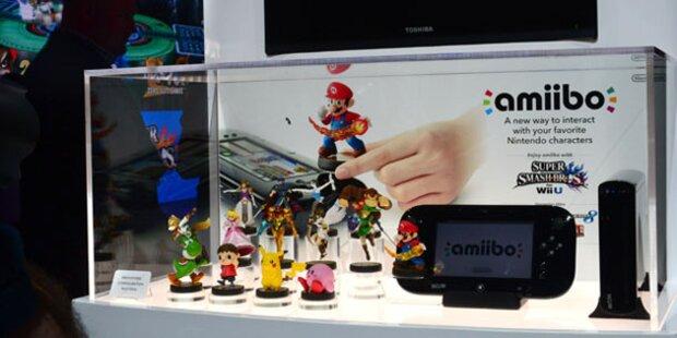 Nintendo bringt Spiel-Figuren mit Funkchip
