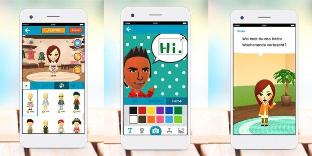 Nintendo startet erste Smartphone-App