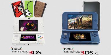 Nintendo greift mit neuem 3DS (XL) an