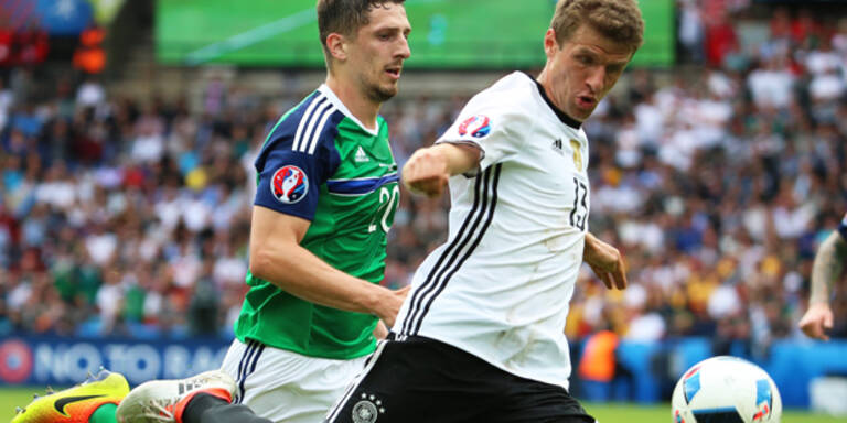 Deutsche nur 1:0 gegen Nordirland