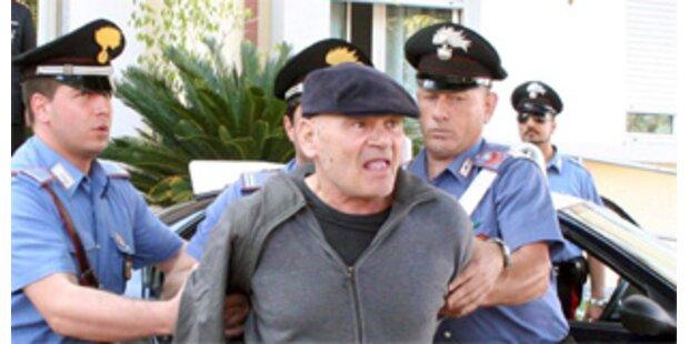 Polizei nimmt über 50 Mafiosi fest