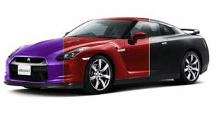 Nissans Chamäleon-Lack kann die Farbe wechseln