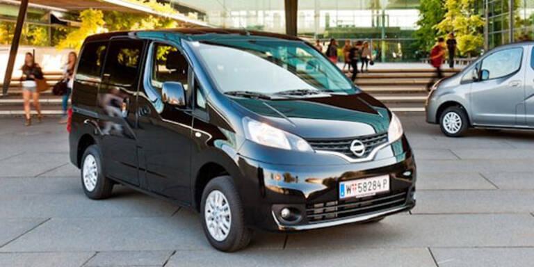Der Nissan Evalia bietet Platz ohne Ende