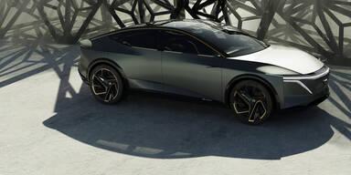 Nissan zeigt einen Tesla-Model-S-Gegner
