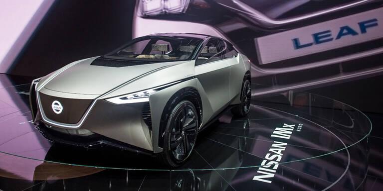 Nissan plant 1 Mio. E-Autos pro Jahr