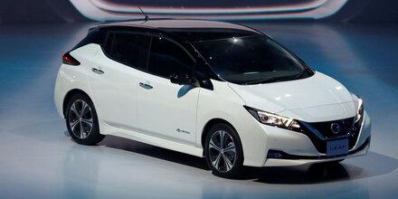 Neuer Nissan Leaf startet als Sonderedition