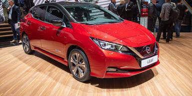 Nissan bringt neue Leaf Varianten