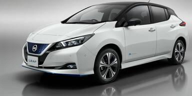 Nissan Leaf: Mehr Leistung und größere Reichweite