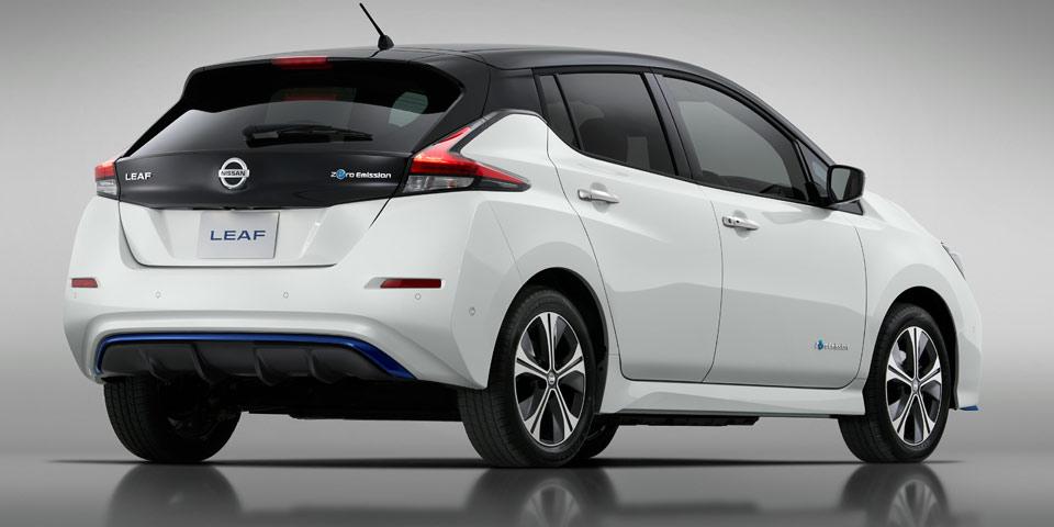 Nissan Leaf (2019) mit mehr Leistung und besserer ...