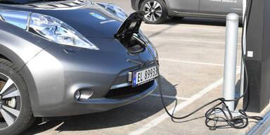 E-Auto-Anteil in Norwegen bei über 50 %