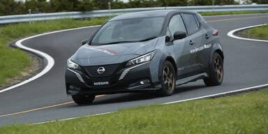 Nissan zeigt Leaf mit 309 PS und Allrad