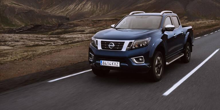 Nissan verpasst dem Navara ein Facelift