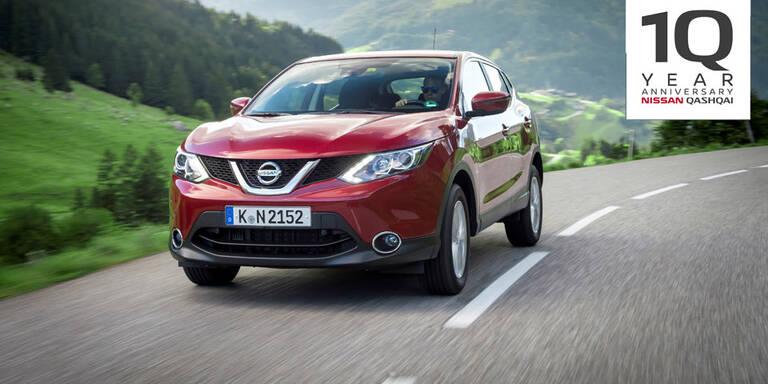 Nissan Qashqai bleibt beliebtester Crossover