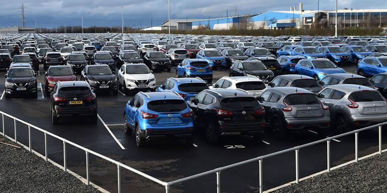 Automarkt in der EU weiter im Sinkflug