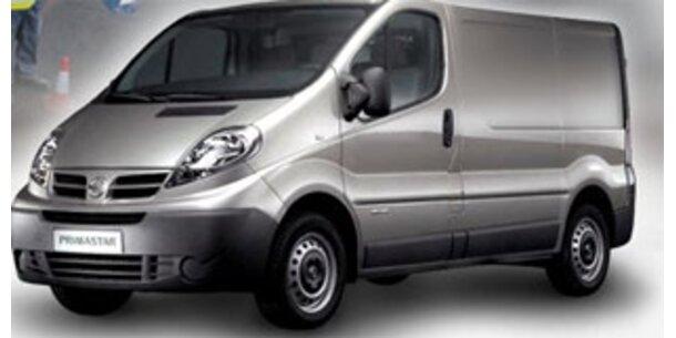 Nissan ruft österreichweit 428 Primastar zurück