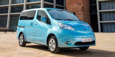 Nissans zweites E-Auto e-NV200 startet