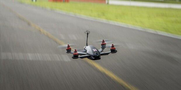 Das ist die schnellste Drohne der Welt