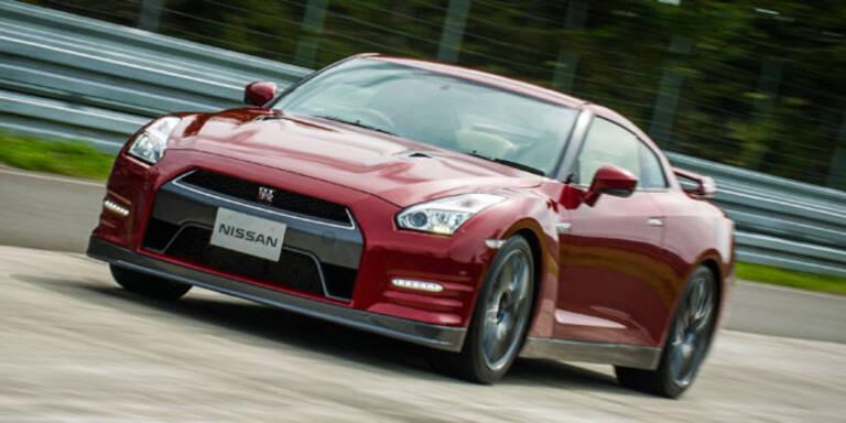 Nissan entschärft den GT-R