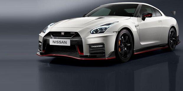 Facelift für den Nissan GT-R Nismo
