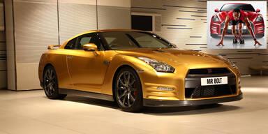 Nissan GT-R für Sprintstar Usain Bolt