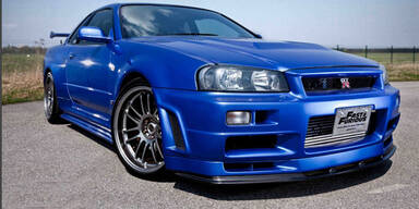 Paul Walkers Fast and the Furios-Auto zu haben