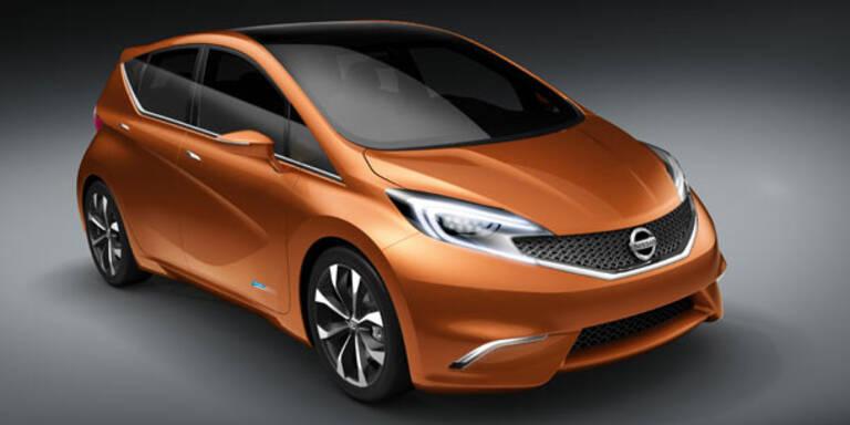 Weltpremiere des Nissan Invitation