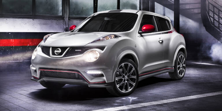 Weltpremiere des Nissan Juke Nismo