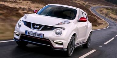 Start für den Nissan Juke Nismo