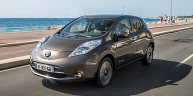 Nissan Leaf jetzt mit mehr Reichweite