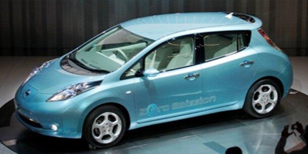 Elektroauto Nissan Leaf wird günstig