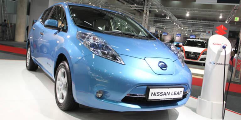 Nissan baut weniger Akkus für E-Autos