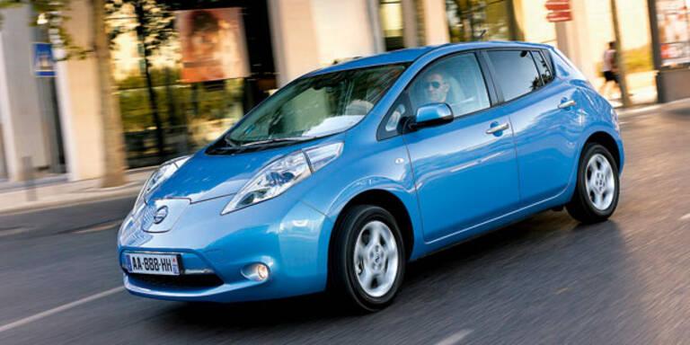 Nissan hat bereits 100.000 Leaf verkauft